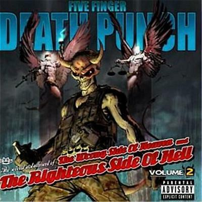 Five Finger Death Punch The Wrong Side of Heaven Volume 2 CD NEW