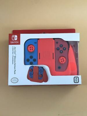 Nintendo Switch Joy-Con Silicone Action Pack Grip - Red
