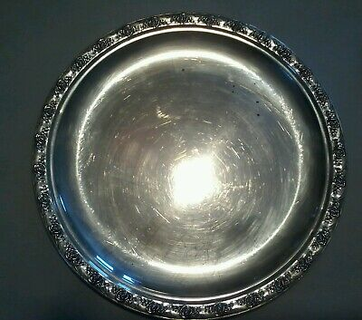 Reed and Barton sterling dish 10 inch