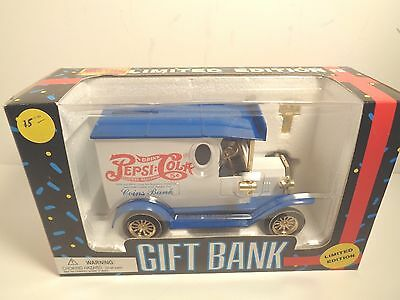 1993 Limited Edition Pepsi-Cola Delivery Truck Coin Bank Ford?? Never Out of Box