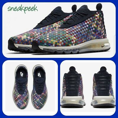 best website 89a6a 789d8 NIKE AIR MAX WOVEN BOOT SE 9 uk 44 eur AH8139-400 MENS TRAINERS 100