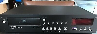 Audio Alchemy DDS-2 CD Transport Player with Remote Control - Rare, Serviced