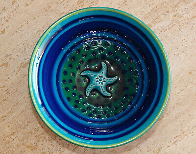 Lincoln Kirby Bell AUSTRALIA STUDIO ART POTTERY BOWL Starfish SIGNED Jam Factory