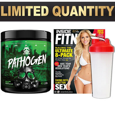 OUTBREAK NUTRITION | Pathogen | 28 Serve Pre Workout Gym