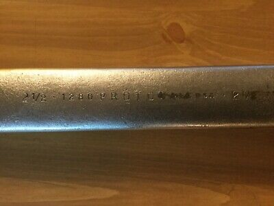 """Proto Professional 1280 2-1/2"""" 12 Point Combination Wrench"""