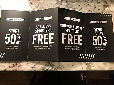 Victoria's Secret Little Book Of Offers Sport Angels Coupons