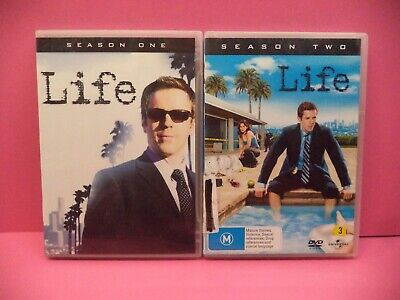 Life The Complete Seasons 1 And 2 Dvd
