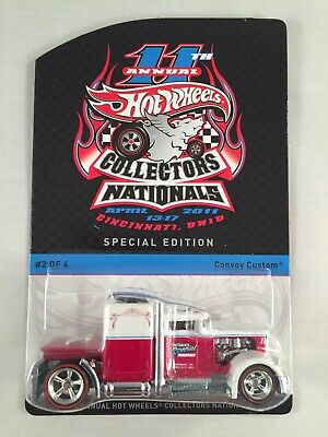 dd91731729f Collectors Nationals Convention 11th Annual Hot Wheels Cincinnati Convoy  Custom