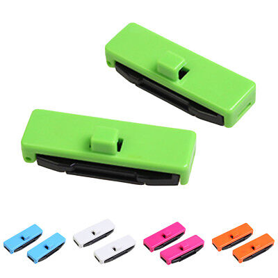 FT- Car Seat Belt Buckles Safety Adjusting Clips Tension Adjusters Stylish 1Pair