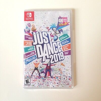 NEW & FREE SHIPPING! JUST DANCE 2019 (Nintendo Switch, 2018)