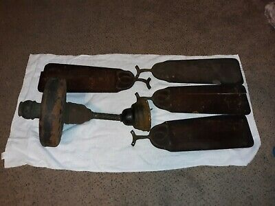 General Electric ANTIQUE CEILING FAN FOR RESTORATION  WITH BLADES