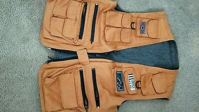Reversible swaggy fishing vest L