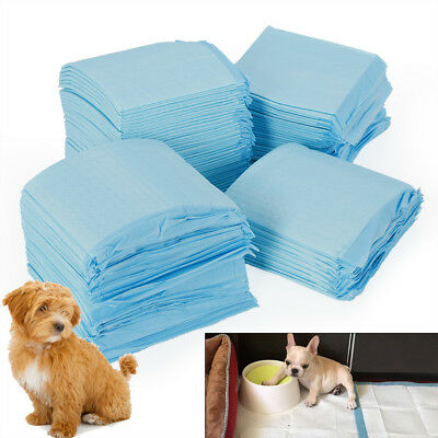 100 330x450mm HOUSE PUPPY PET POTTY TRAINING PADS PEE TRAIN PAD MATS FOR Dog CAT