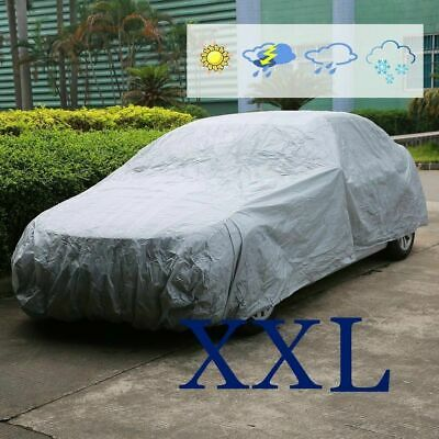 Universal Full Car Cover Rain Snow Sun UV Protection Showerproof Breathable XXL