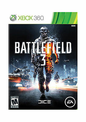 BRAND NEW Battlefield 3 (Microsoft Xbox 360, 2011) SEALED FREE SHIPPING