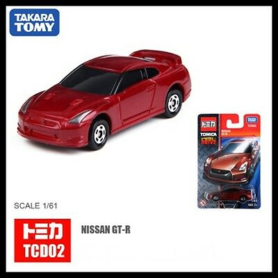Tomica Cool Drive Tcd02 Nissan Skyline Gt-R R35 1/61 Red Tomy Gtr