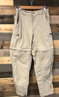 Columbia GRT Women's Convertible QUICK DRY 5 Pkt Cargo Pants / Shorts Small