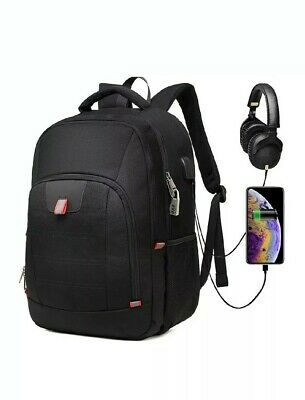 Laptop Backpack 17.3 Inches Extra Large  Rucksack USB Port Anti-Theft Zhi Wei
