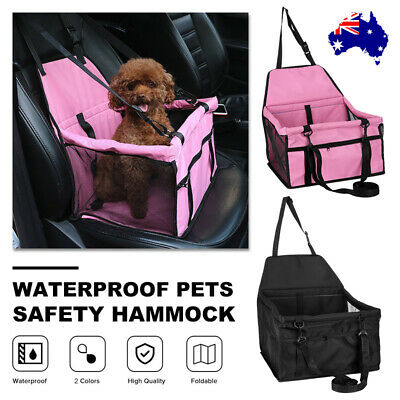 Cat Dog Car Booster Seat Pet Puppy Auto Carrier Travel Safety Basket Protector