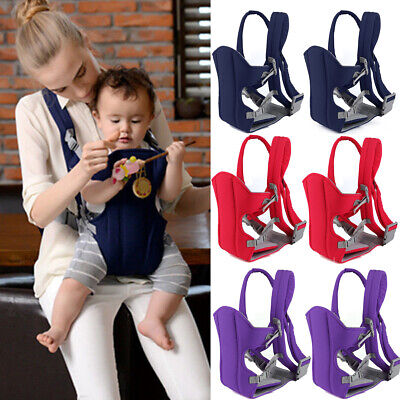 4 Position Newborn Baby Carrier Sling Wrap Backpack Front Back Chest Ergonomic