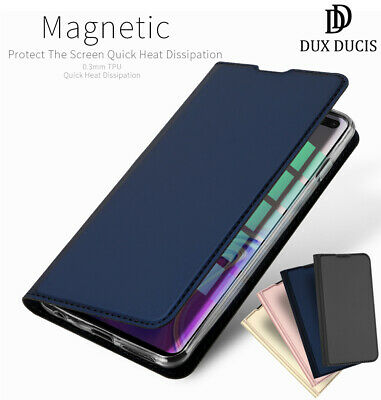 DD Samsung Galaxy S10 Plus S10e S9 PU Leather Flip Case Wallet Magnetic Cover