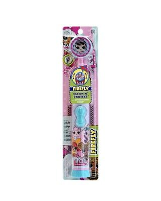 Firefly Clean N' Protect SOFT LOL Surprise Battery Power Toothbrush 3+ Cover NEW
