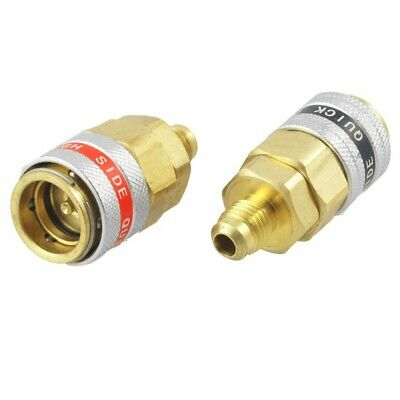 Car A/C R134a Quick Coupler Adapter Automotive High Low Side Tool H5I8
