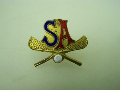 Vintage pin back badge Lacrosse S.A.                                        2062