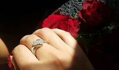 10ct Gold Engagement Ring