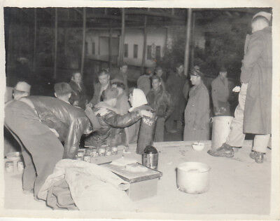 Original WWII Photo AAF 312th FIGHTER WIING PARTY Chengtu Chengdu China CBI 71