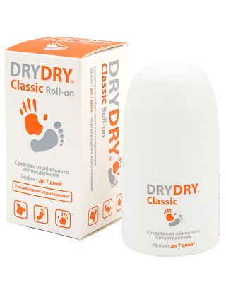 Dry Dry Classic Antiperspirant from Excessive sweating Roll-on 35ml