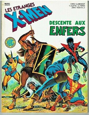 Comics- Série Les Étranges X-Men N°1 Eo 1983 Lug Editions Tbe