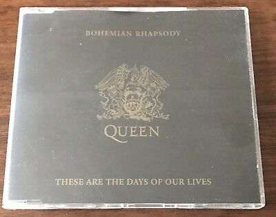 Queen - Bohemian Rhapsody/These Are The Days Of Our Lives (1991 CD single)