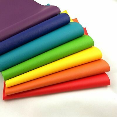 Litchi Faux Synthetic PU Leather Fabric For Sewing DIY Bag Shoes Material