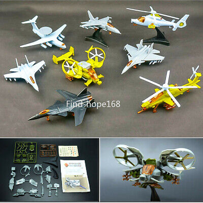 Beautiful 3d Fighter Model Aircraft Paper Model Assemble Military Fighter Planes Sand Table War Helicopter Model Gift For Children Boys Model Building Kits