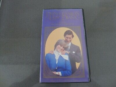 """Vhs Vdeo Film """"the Story Of Prince Charles And Lady Diana"""""""