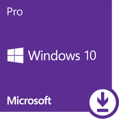 Microsoft Windows 10 Professional, Win 10 Pro OEM, Produktkey per Email