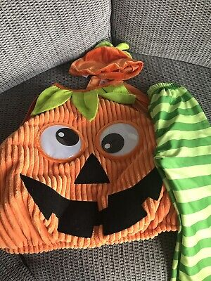 Kids Pumkin Dress Up Outfit Age 1-2