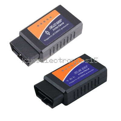1PCS ELM327 WiFi Bluetooth OBD2 OBDII Car Diagnostic Scanner Code Reader Tool