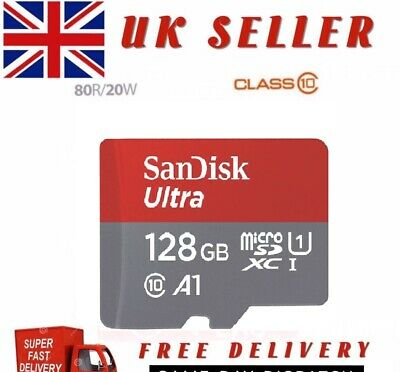SanDisk ULTRA 128GB Micro SDXC Card UHS 1 Class 10 Adapter