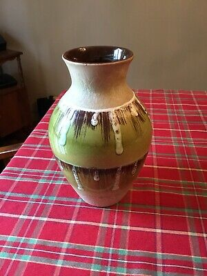 Carstens West Germany 1245-25 Fat Lava Mid Century modern