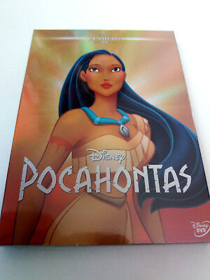 "Dvd ""Pocahontas"" Precintado Sealed Con Funda Carton Slipcover Walt Disney Clasic"
