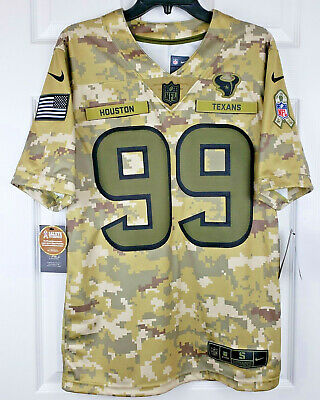 To Texans Salute Service Jersey
