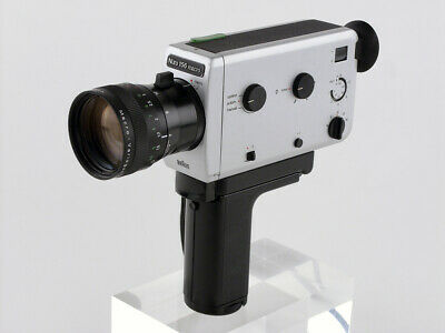 Braun Nizo 156 MACRO film camera MOVIE cine COMPACT Variogon Super 8mm 36fps