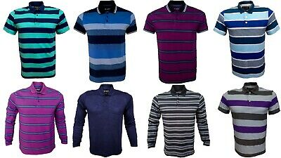 Mens Polo Shirt Lightweight JR New Fashion Sports Casual Golf Polo Shirts S/XL