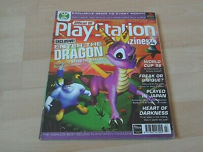 Official UK Playstation Magazine - Issue No. 34