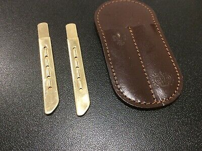 Vintage Tiffany and Company 14K Gold Collar Stays  ESTATE FIND.