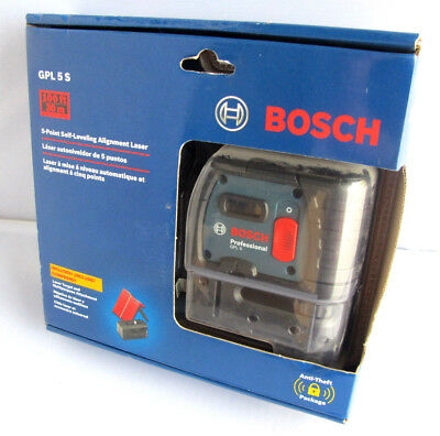 Bosch GPL 5S 5-Point Self-Leveling Alignment Laser