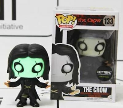 Funko - POP Movies The Crow Eric Draven #133 Hot Topic Excl. GLOWS IN THE DARK