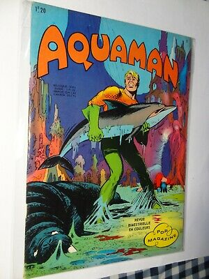 Aquaman N°1 (Pop magazine)  La grande poursuite Arédit 1970